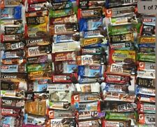 100 Protein & Nutrition Bars Assorted Lot Please Read Listing Info In Details!