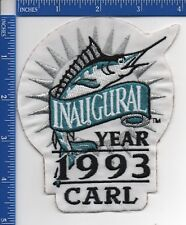 Authentic MLB- Florida Marlins Inaugural/Carl Barger Memorial patch 1993 NOS