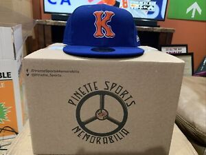 Kingsport Mets Fitted On Field New Era 5950 BP Cap Hat Size 7 3/4 New York NWT