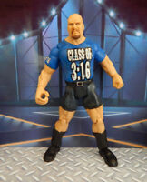 Stone Cold Steve Austin WWF Titan Tron Live WWE Jakks Pacific WRESTLING FIGURE