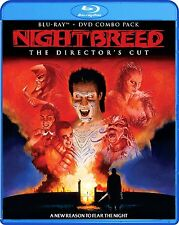 NIGHTBREED :  The Director's Cut Combo - Region A -  BLURAY /DVD - Sealed