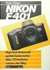 Nikon F-401 Buch Deutsch German book livre libro - (81837)