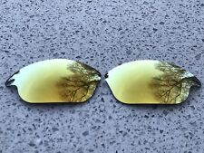 Nueva costumbre 24K oro Espejo de lentes de reemplazo Oakley Rápido Chaqueta