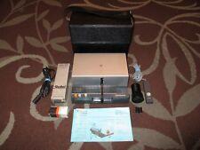 Vintage Rollei AutoFocus Slide Projector Model P35E + Case + Accessories German