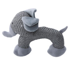 Dog Chew Soft Plush Toys Small Dogs Bite Resistant Squeaky Interactive Toy CP