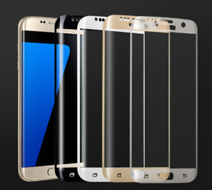 2x Full Cover Tempered Glass Curved Screen Protector for Samsung Galaxy S7 Edge