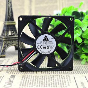 2pcs Delta 8015 AFB0812VHB 80X80X15mm 12v 0.30a cpu computer case cooling fan