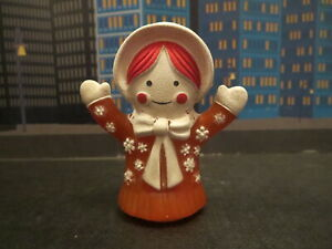 VINTAGE RAGGEDY ANNE FINGER PUPPET DOLL CLEAN