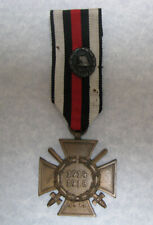 GERMANY, 1914 - 1918 Honour Cross with Swords & Black Wound Badge