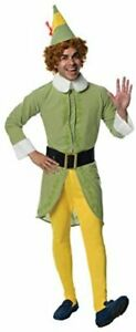 Elf Movie Buddy The Elf Costume, Green, X-Large, Multi-colored, Size