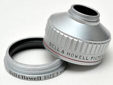 Bell & Howell Size 5 Filter Holder & Retaining Ring 8mm USA