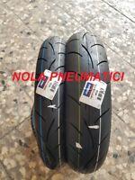 Coppia pneumatici 100/80 R17 52H e 130/70 R17 62H MITAS MC50 DOT fine2019