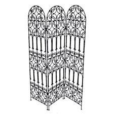 Orientalische Marokkanische Paravent Raumteiler aus Eisen 100% Handarbeit 2 H180