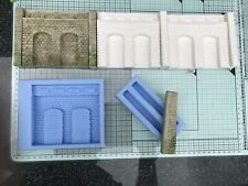 Lineside retaining arches mould & Abutments  OO Scale  - LS01 - Model Railway