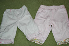John Lewis Girls' Cotton Trousers & Shorts (0-24 Months)