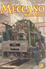 1948 MAY 33588  Meccano Magazine Cover Picture  MEN AT WORK