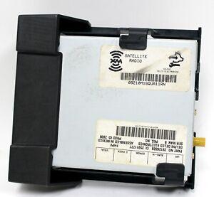 2008-2009 Pontiac G8 GT GXP Satellite Radio Module w/ Bracket USED GM 28126669