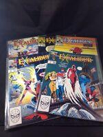 Excalibur Marvel Comics # 1 2 3 4 & Special Edition Chris Claremont