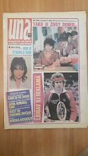John McEnroe On Cover - Ladies Womens Magazine Una - Yugoslavia 1985