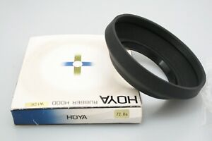 Boxed HOYA WIDE LENS HOOD 72mm Collapsible rubber, Looks new unused