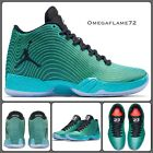 "Nike Air Jordan XX9 ""Easter"" 695515-403 UK 7, EU 41, US 8 Retro, Black, Emerald"