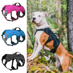 Reflective Dog Lift Harness No Pull Mesh Vest Harness for Large Breeds Pit Bull