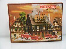 Vollmer 7738 - Spur N - Brennendes Haus - TOP in OVP - #9283