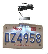 1x Chrome License Plate Light Accent LED 12V GSXR Busa CBR RR Ninja ZX YZF R1 R6