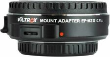 Viltrox EF-M2 II SpeedBooster 0.71x Adapter Canon EF to M43 MFT over 900 sold !!