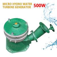 Micro Hydroelectric Water Powered Turbine 500W Generator