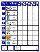 Chore Chart w.Movable Illustrated Chores for Home toddlers boys and girls