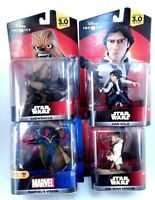 Lot of Star Wars Disney Infinity 3.0 Game Character Action Figures Bundle