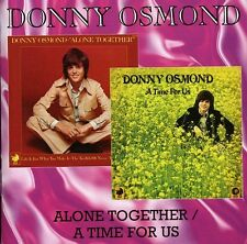Donny Osmond - Alone Together / Time for Us [New CD] Rmst
