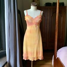DYED PETALS Vintage Eco-Dyed Tie-Dyed Slip Dress S/M 32