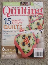 Fons & Porter's Love of Quilting Magazine JAN/FEB 2014