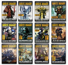 Games Workshop WHITE DWARF MONTHLY Magazine Early Back Issues (2017) Issue #5+
