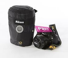 Nikkor 50th year Lens Pouch Bag Protection 16-85mm 18-300mm Nikon New USA Pad