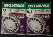 SYLVANIA 2 light bulbs energy saving lamps
