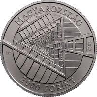 2020, Ungarn, 2000 Forint János Harsányi Nobelpreis BU