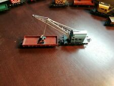 Märklin 4671 Kranwagen Blau mit Zusatzanhänger