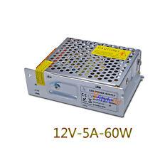 60W LED Power Supply Driver 110V-220V TO DC12V  5A For LED Light Lamp Strips