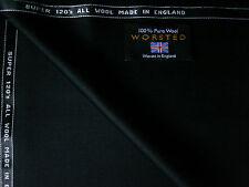100% más fino Super 120' swool tejido de lana peinada satisfaciendo en Negro-por Martin hijos ** 3.4 M