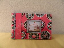 "VERA BRADLEY ""CUPCAKE PINK"" PHOTO BOOK RETIRED RARE NEW"