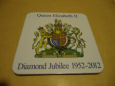 LOT DE 2 DESSOUS DE VERRE - QUEEN ELIZABETH II