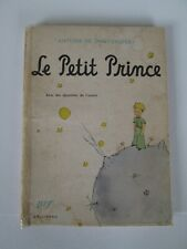LE PETIT PRINCE in original French (1946 GALLIMARD softcover edition)