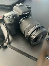 Canon EOS 70D 20.2 MP DSLR Camera Kit with EF-S 18-135mm f/3.5-5.6 IS STM Lens -