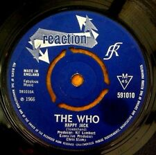"THE WHO  "" HAPPY JACK "" RARE ORIG UK SUPER REACTION 7"""