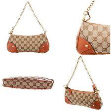 New Gucci Tom Ford Era Chain Logo Pochette Bag Purse W Tags & Cover