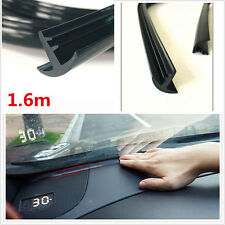 1.6m /5.25ft Car Windshield Dashboard Soundproof Anti-dust Sealing Strip Black