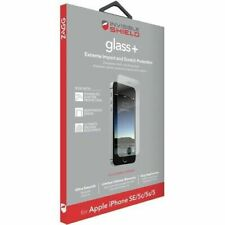 Protector de Pantalla de Vidrio Templado Zagg InvisibleShield Apple iPhone SE/5/5c/5s
